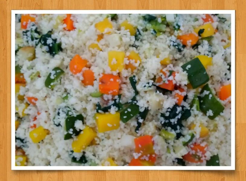 Couscous végétarien à la vapeur