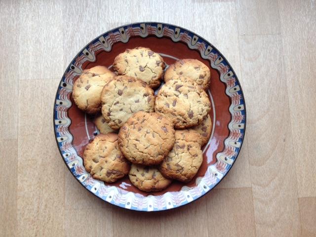 Délicieux cookies sans beurre et sans sucre !!!
