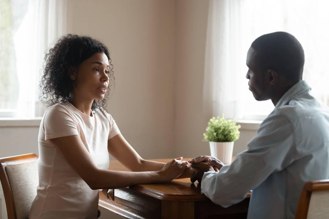 Discussion de couple à l'issue d'une PNL